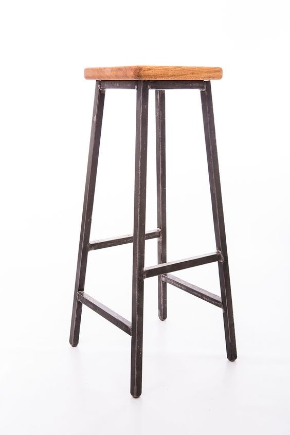 Bar stool, industrial style